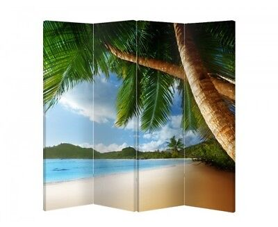 Double Sided Canvas Dressing Screen Room Divider 04912 All Sizes