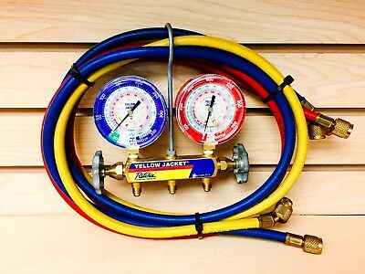 Yellow Jacket 42004 Manifold with Gauge, psi Year 2013