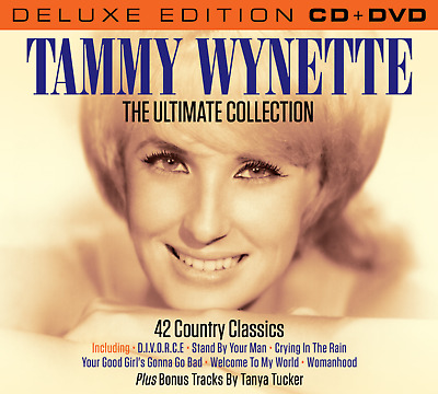 Tammy Wynette The Ultimate Collection Set (Deluxe Edition CD & all regions DVD)
