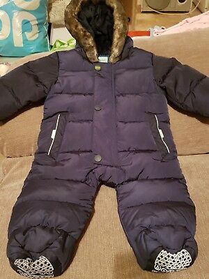 Ted Baker boys all-in-one/snowsuit 0-3 months