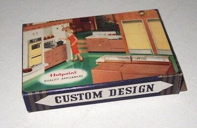 Vintage Hotpoint Quality Appliances Playing Cards Full Deck with Tax Stamp