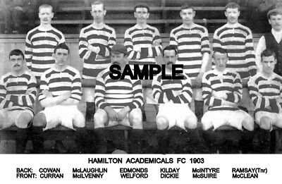 Hamilton Academical FC 1903 Team Photo