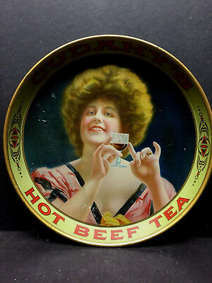 Cudahy's Victorian Advertising Tray 1910 Chicago