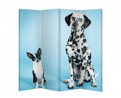 Double Sided Canvas Dressing Screen Room Divider 7328 All Sizes