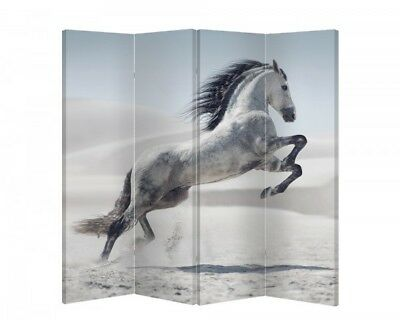 Double Sided Canvas Dressing Screen Room Divider 09191 All Sizes