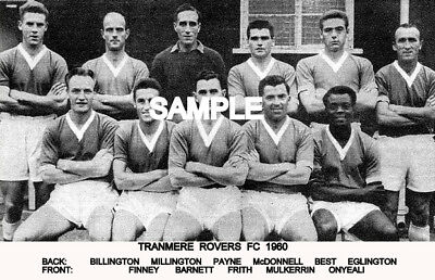 Tranmere Rovers FC 1960  Team Photo