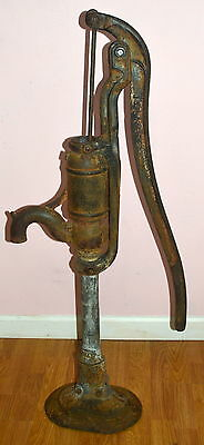Antique Hayes Cast Iron Manual Water Pump Collectible