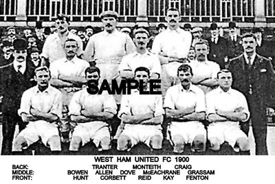West Ham Utd FC 1900  Team Photo