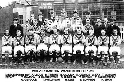 Wolverhampton Wanderers FC 1923  Team Photo