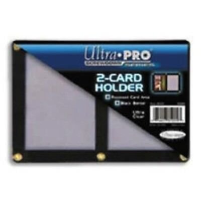 Ultra Pro Black Border Screwdown 2 Card Holder Mtg, Pokemon, Yugioh, Sports Card