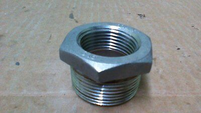 "1 1/4"" X 1"" Npt  Reducing Bushing / 316 Stainless Steel Alloy"