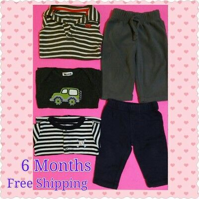 Infant/ baby boy 5pc lot bundle 6 Months