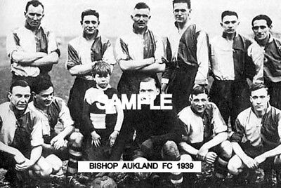 Bishop Aukland FC 1939 Team Photo