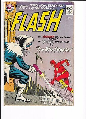 FLASH # 114, GOOD MINUS CONDITION, 2nd CAPTAIN COLD STORY