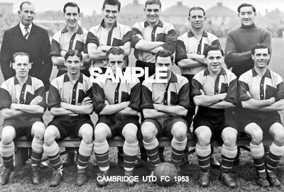 Cambridge Utd FC 1953 Team Photo
