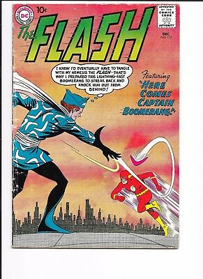 FLASH # 117, VERY GOOD MINUS CONDITION, 1st CAPTAIN BOOMERANG STORY