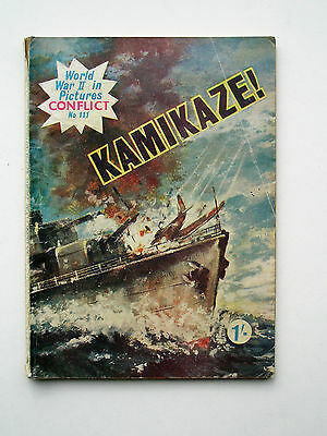 KAMIKAZE (WORLD WAR II IN PICTURES, CONFLICT No 111 ) HAS A FEW SMALL CREASES