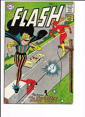 FLASH # 121, GOOD-VERY GOOD CONDITION, 2nd TRICKSTER STORY