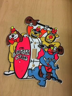 Rare Banana Splits ADVENTURE HOUR HANNA-BARBERA Studios Vintage switch plate