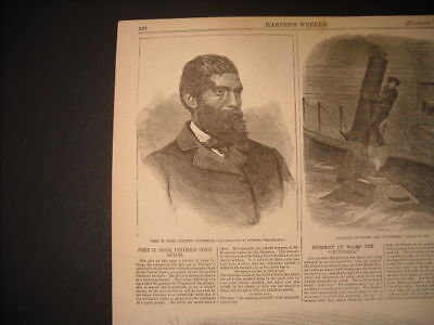 John H. Rock, Attorney Engraving and Report 1865