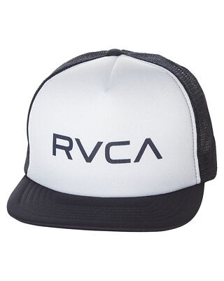 New Rvca Men's Trucker Cap Mesh Blue