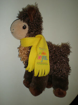 """Stuffed Llama Girl Scouts ABC Bakery Prize 11"""" Be Unique, Be You 2017"""