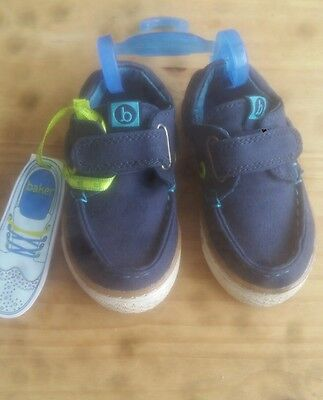 Ted Baker Boys Shoes Toddler Size 4 BNWT