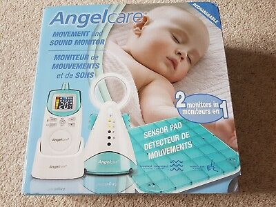 Angelcare AC401 Rechargeable Baby Monitor & Movement Breathing Sensor Pad