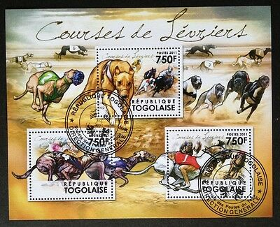 Hunde Dogs Chiens Animals Tiere Fauna Togo 2011 KB Sheet