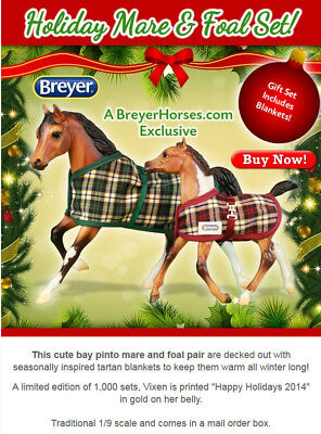 Breyer #711998 Vixon and Blitzen