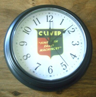 New Oliver Finest In Farm Machinery Logo Clock 1945 To 1960 Clock Face