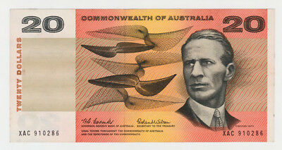 Australian Commonwealth Of Australia 20 Dollar Banknote Coombs Wilson Ungraded