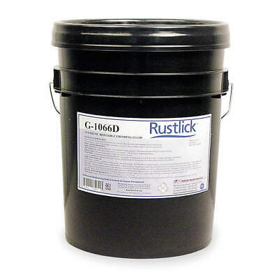 RUSTLICK Cutting Oil,5 gal,Bucket, 75051, Yellow, Orange