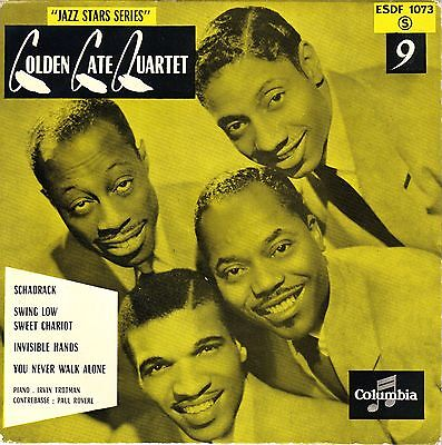 2x Golden Gate Quartet  Schadrack, Swing Low Sweet., Invisible Hands, You Never