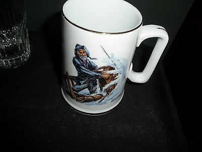 "Norman Rockwell Nautical Theme Mug ""BRAVING THE STORM"" Excellent Condition"