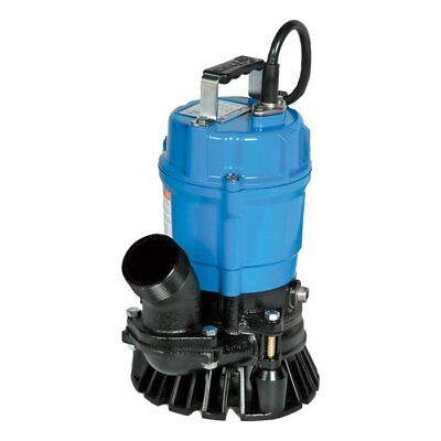 "HS2.4S-62 TSURUMI  Submersible Trash Pump w/ Agitator -  2"" Discharge,  .54 HP 1"