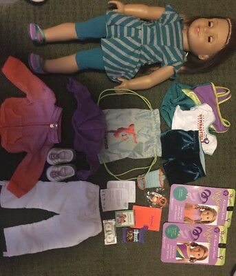 American Girl Doll McKenna and accessories