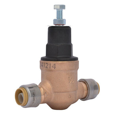 Cash Acme 23807-0045 EB-45 1/2'' Sharkbite Pressure Regulating Valve