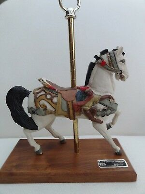 1985 PJ's Carousel Collection Replica of Early DENTZEL STYLE Carousel Horse