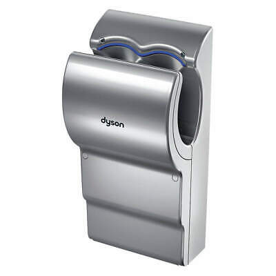 DYSON Hand Dryer, Integral,Polycarbonate ABS, 301853-01, Gray