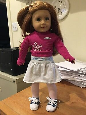 """American Girl Mia Doll 2008 Doll of the Year - 18"""" Retired"""