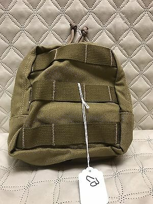 London Bridge LBT-6109 Medical Vertical Utility Pouch Coyote Brown MOLLE NWOT
