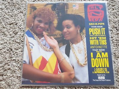 Salt 'N' Pepa - Push it 12'' Disco Vinyl REMIX