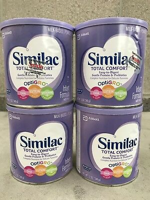 Similac Total Comfort 12OZ ( Lot Of 4 Cans)