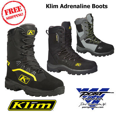 New Klim Adrenaline GTX Gore-Tex Mens Snowmobile Boot