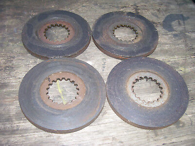 Vintage Ji Case 320  Tractor  -Brake Disc Set - 1958