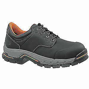 TIMBERLAND PRO Work Boots,Mens,9,W,Lace Up,Black,PR, 1100A, Black