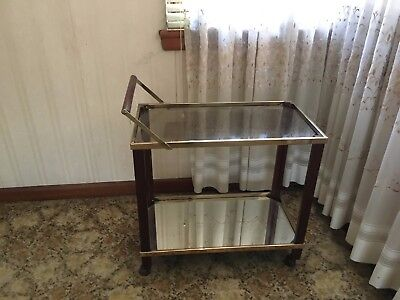 Glass and Chrome Tray Mobile