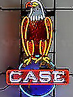 New J.I. Case 11 x 17 Laminated Poster Featuring Case Eagle On Globe