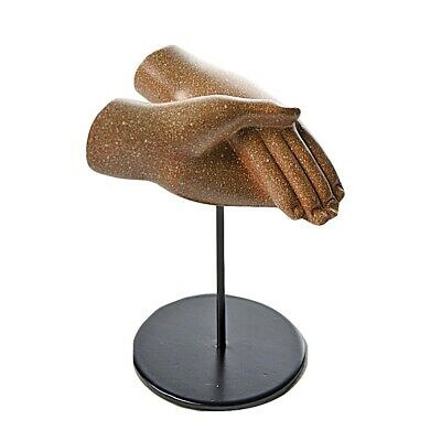 Egyptian Lovers Hands Clasping Statue, Akhenaten and Nefertiti Small Romance 4H